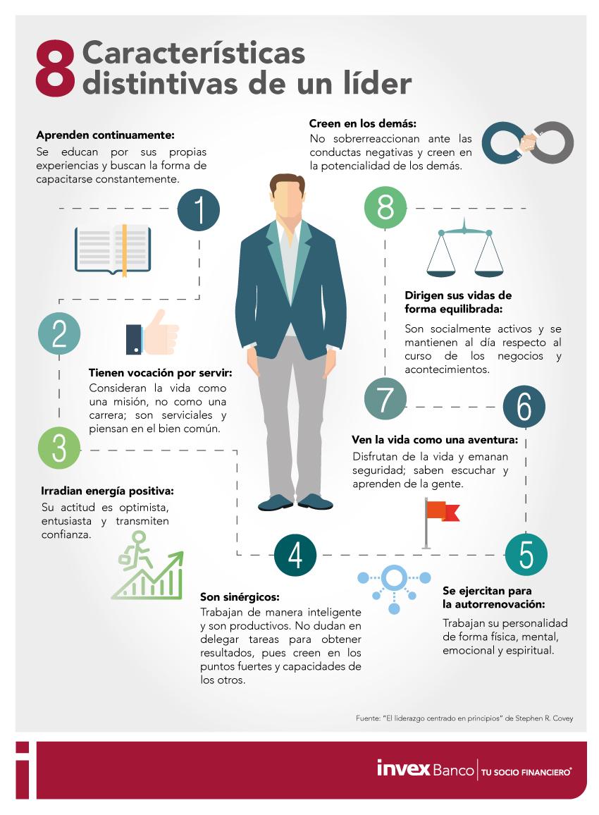 8 características de un líder