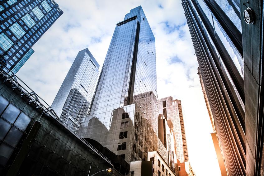 Office skysraper in New York